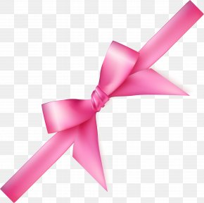 Pink Fresh Bow - Pink PNG