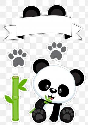 Candy Bar Clipart Panda - Giant Panda Bear Image Cuteness Clip Art PNG