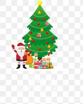 Send Gift Santa Claus - Christmas Tree Gift Christmas Ornament PNG