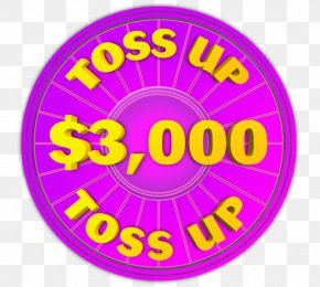 Toss - Wheel Of Fortune 2 Game Show Television Show Intertitle PNG