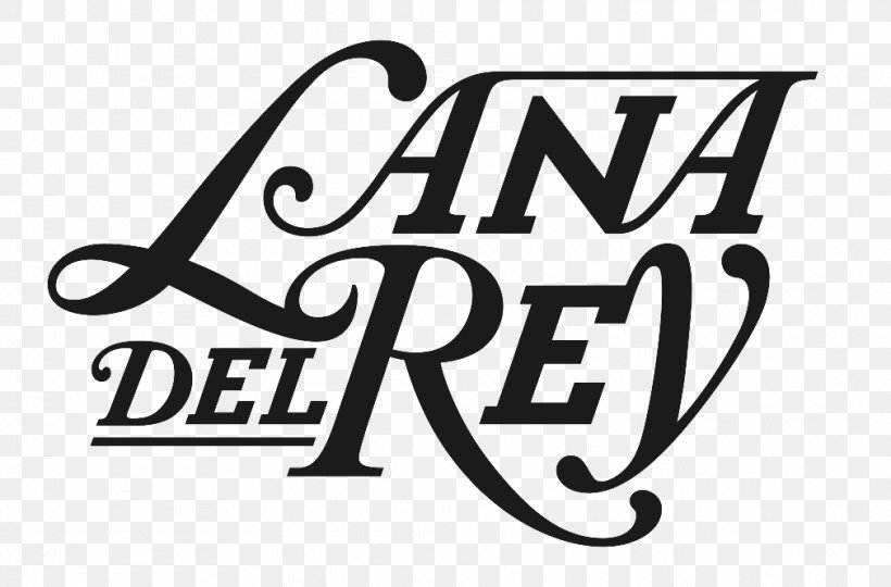 Logo Font Typography Lana Del Ray Sort, PNG, 1010x666px, Logo, Album, Area, Black And White, Brand Download Free