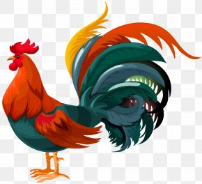 Rooster Transparent Clip Art Image - Rooster Chicken Clip Art PNG