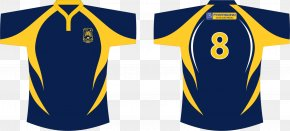 Rugby - T-shirt Jersey Backup Sportswear PNG