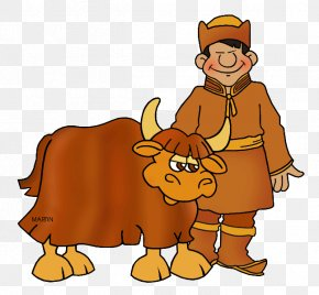 Yak Cliparts - Mongolia Domestic Yak Mongol Empire Mongols Clip Art PNG