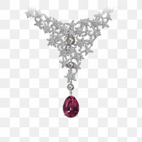 Jewelry - Jewellery Cartier Earring Necklace Brilliant PNG