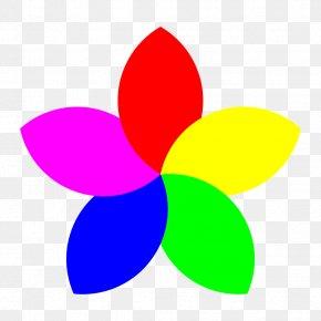Flower Clip Art - Petal Flower Clip Art PNG