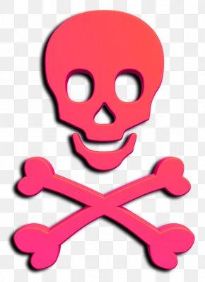 Greek National Day - Chi Omega Skull And Crossbones Calavera Human Skull Symbolism PNG
