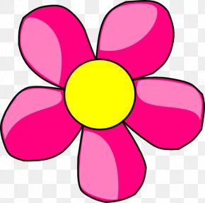 Daisy Flower Cliparts - Red Flower Clip Art PNG