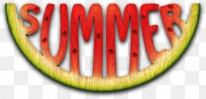Watermelon - Watermelon Summer Color PNG