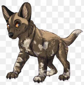 Dog - Whiskers African Wild Dog Puppy Cat PNG