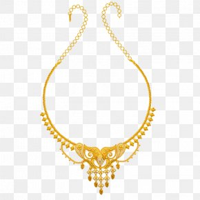 Jewellery - Jewellery Necklace Colored Gold Chain PNG