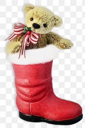 Teddy Bear Snow Boot - Teddy Bear PNG
