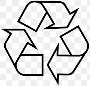 Recycle - Recycling Symbol Sticker Recycling Bin Waste Container PNG
