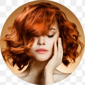 Woman Hair - Beauty Parlour Color Hairstyle Lace Wig PNG