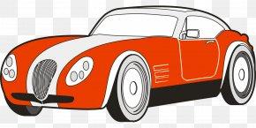 Sports Car - Sports Car Ferrari S.p.A. Lamborghini Clip Art: Transportation PNG