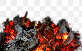 Burning Charcoal Free Material - High-definition Television 4K Resolution Fire Wallpaper PNG