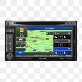 Alpine - Car Vehicle Audio Automotive Navigation System GPS Navigation Systems IGO PNG