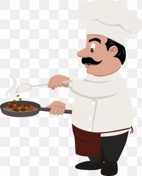 Cartoon Character Chef - Chef Cooking Euclidean Vector PNG
