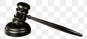 Judge Hammer Black - Judge Gavel Court Hammer Clip Art PNG
