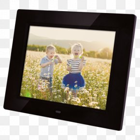 Digital Photo Frame Display Resolution Digital Data Thin-film Transistor PNG