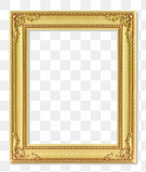 Gold Frame - Picture Frame Stock Photography 123rf Royalty-free PNG