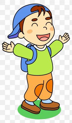 Cute Kids Cartoon Painted Endorsement Package - Cartoon Drawing Clip Art PNG