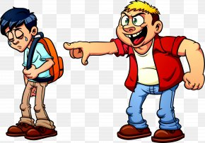 Stop School Cliparts - School Bullying Cartoon Clip Art PNG