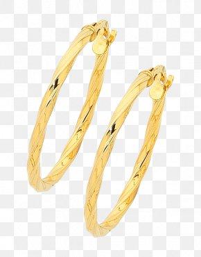 Gold - Earring Bangle Gold Jewellery Kreole PNG