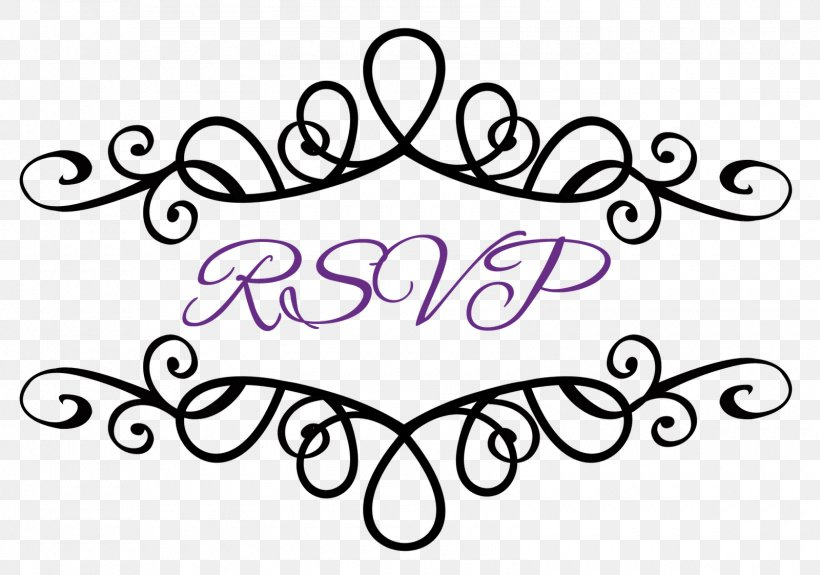 Wedding Invitation Rsvp Clip Art Png