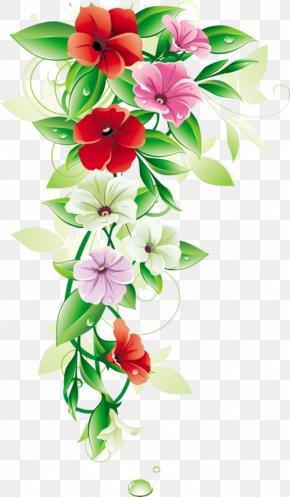 Flower - Flower Borders And Frames Floral Design Clip Art PNG