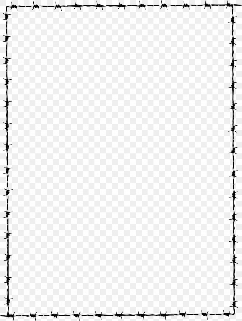 Barbed Wire Clip Art, PNG, 2679x3556px, Barbed Wire, Area, Black, Black And White, Drawing Download Free