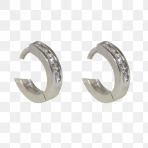 Silver - Earring Silver Woman Joyeria Maruki Jewellery PNG