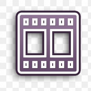 Rectangle Vdo Icon - App Icon Basic Icon Interface Icon PNG