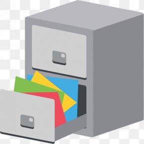 File Cabinet - File Cabinets Emoji Records Management Computer File PNG