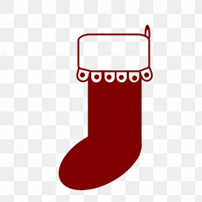 Christmas Stocking Picture - Christmas Stocking Gift Clip Art PNG