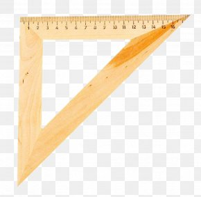 Triangle Ruler - Plastic Ruler Icon PNG