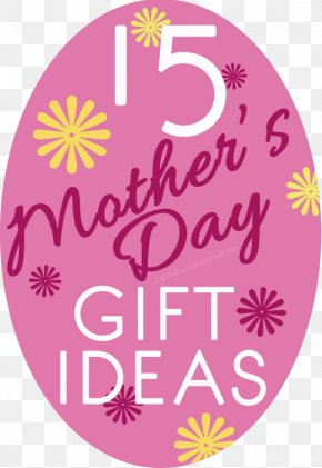 Mother's Day Material - Label Sticker Gift Mother's Day PNG