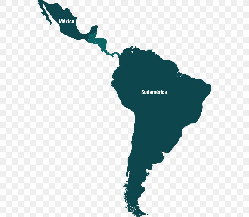 Latin America South America United States Blank Map, PNG ...