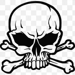 Skull - Skull And Bones Skull And Crossbones Human Skull Symbolism Sticker PNG