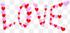 Valentine's Day - Valentine's Day Heart Father's Day Clip Art PNG