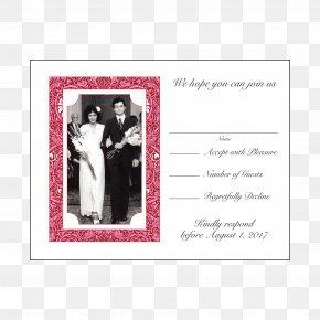 Wedding - Wedding Invitation Picture Frames Wedding Anniversary PNG