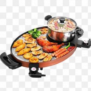 Korean Shabu-shabu Barbecue Material - Shabu-shabu Barbecue Hot Pot Furnace Teppanyaki PNG