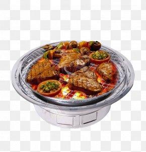 Charcoal Oven - Meatball Barbecue Barbacoa Furnace Charcoal PNG
