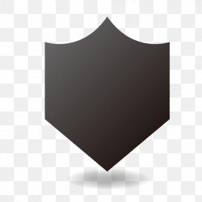 Dark Black Shield Material - Shield Virus Darkness PNG