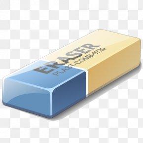 Eraser - Eraser Paper Pencil Clip Art PNG