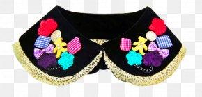 Korean Doll Lace Collar False Collar Blouse - Detachable Collar Shirt Lace Blouse PNG