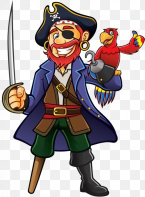 Pirate Captain - Captain Hook Piracy Royalty-free Privateer PNG