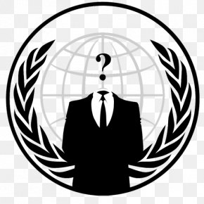 Anonymous - Anonymous Hacktivism Security Hacker PNG