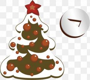 Creative Christmas - Rudolph Christmas Tree Santa Claus Clip Art PNG
