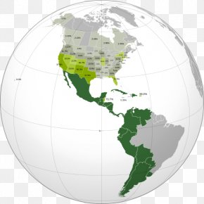 United States - Latin America South America United States Hispanic America Spanish Language In The Americas PNG